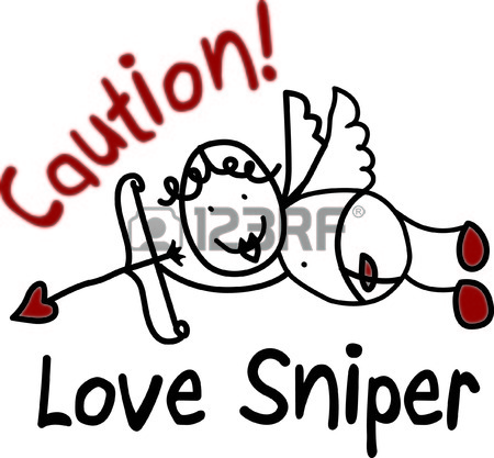 450x417 We Are In Love With This Cute Cupid The Simple Line Drawing
