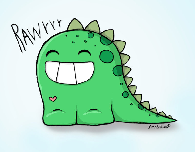 800x623 Best Photos of Cute Cartoon Dinosaurs