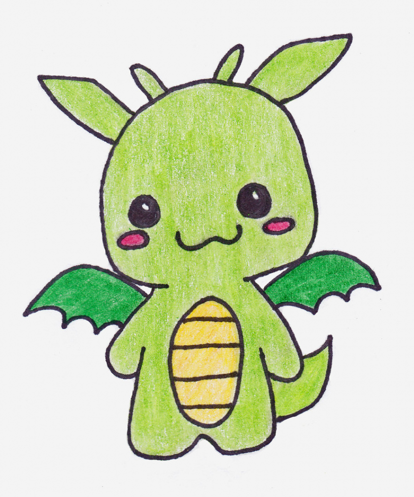 Awesome 853x1024 Cute Little Drawings Cute Dragon Drawings Free Download Clip Art