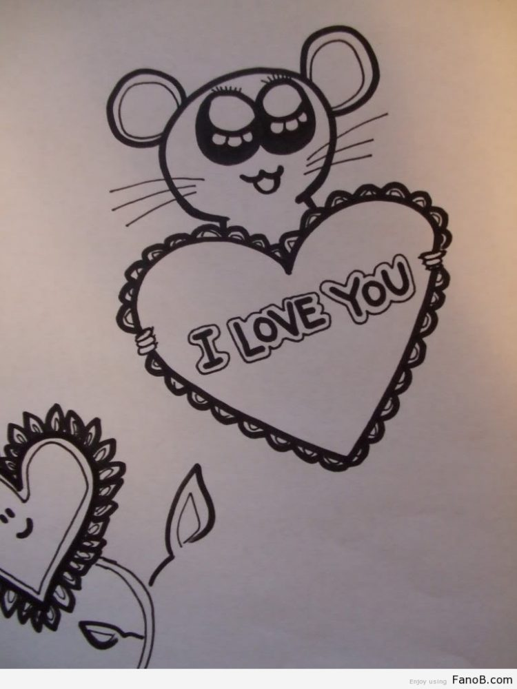 750x1000 Pictures Drawing Ideas For Your Boyfriend,