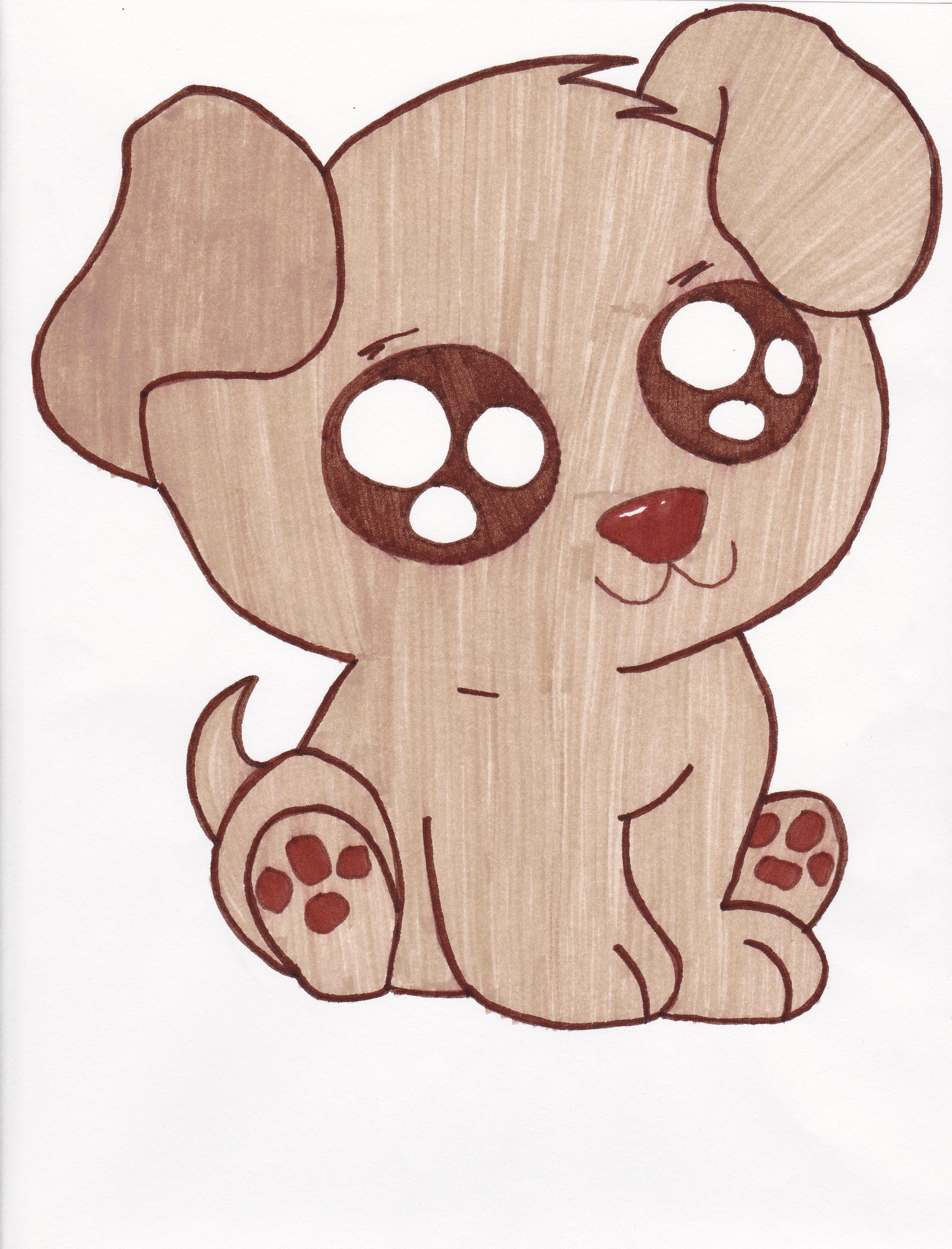 2512x3296 Cute Drawing Of A Puppy Cute drawings Cute Puppies Drawings