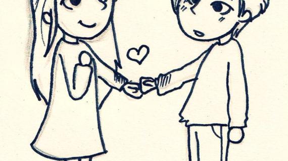 570x320 Cartoon Drawing Love Cute Easy Drawings Of Love Tumblr Idees