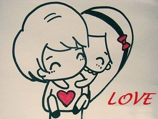 320x240 Gallery Couple Cute Lover Draw,