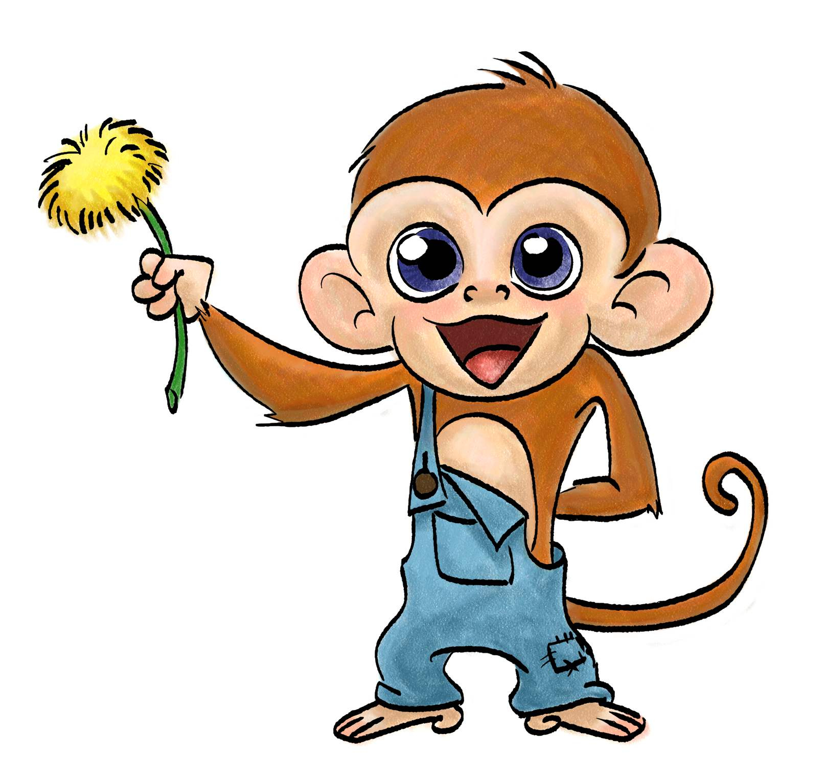 1616x1524 Cute Monkey Drawings Cute Baby Monkey Drawings Cute Baby Monkey