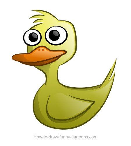 450x500 Duck Drawings (Sketching + Vector) Cartoon, Drawings And Art