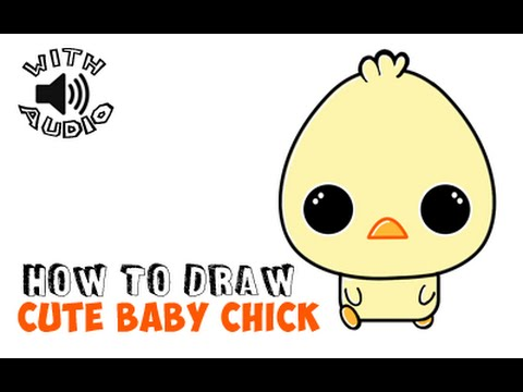480x360 How To Draw Baby Duck Or Chibi Duckling Chick (Simple Steps