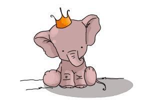 300x200 Cute Elephant Drawings How To Draw A Cute Elephant Cute