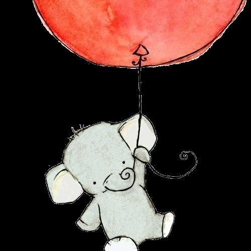500x500 Drawing Art Animals Cute Painting Elephant Animal Elephants Baby