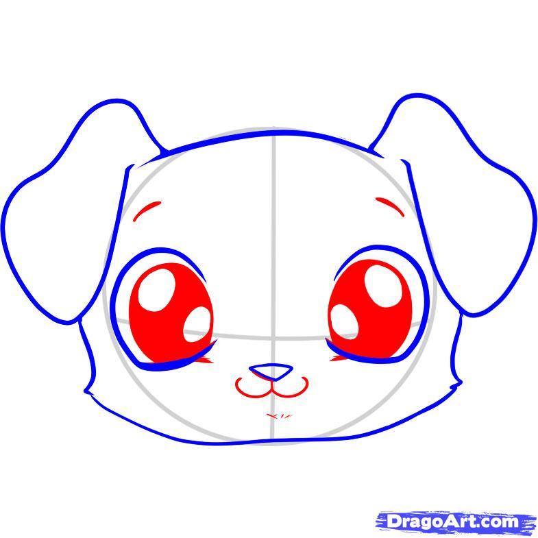 Cool Small Anime Adorable Dog - cute-eyes-drawing-61  2018_164817  .jpg