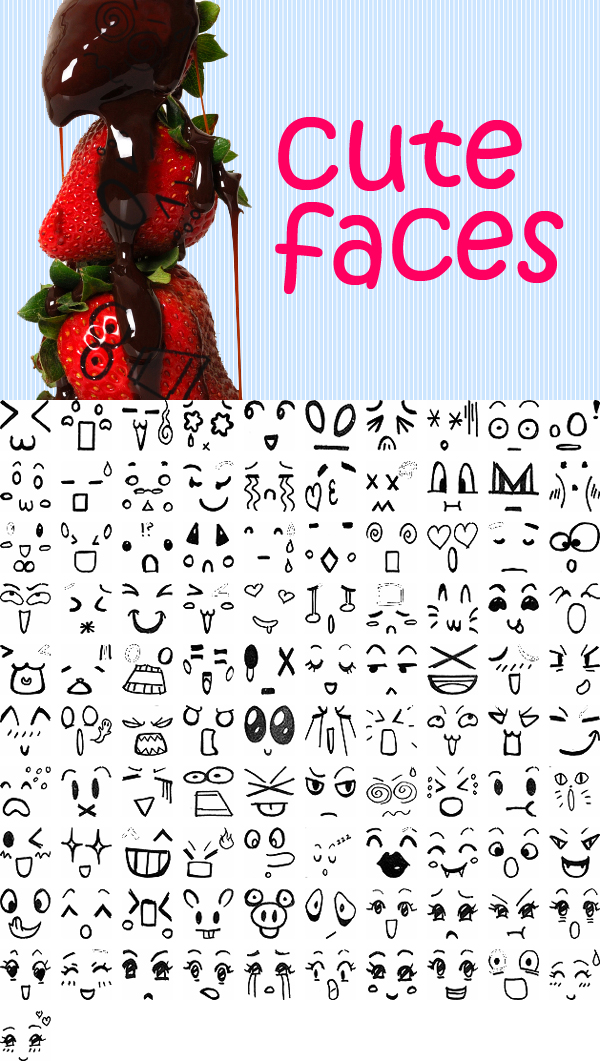 600x1061 Cute Faces I Am Now Going To Want To Put Faces On Everrrrythang