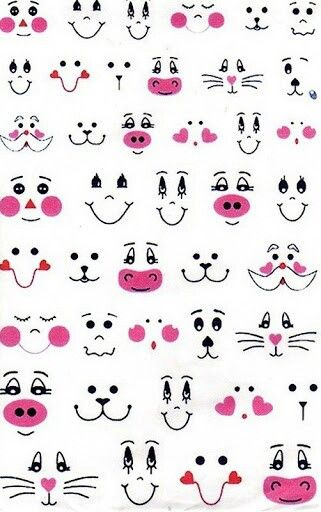 321x512 Draw Or Paint Simple Faces Faces Of Animals Face