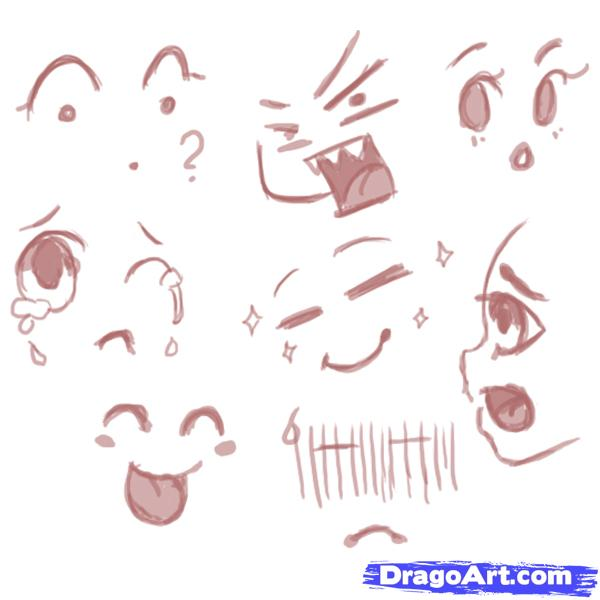 600x600 How To Draw Cute Chibis Step 5 Drawings And Art