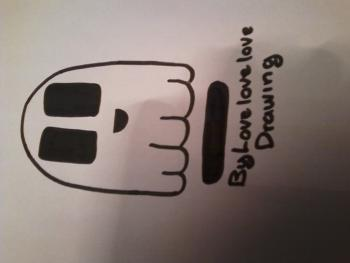 350x263 How To Draw How To Draw Cute Ghost