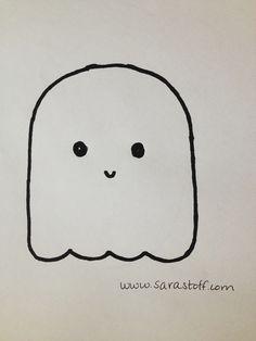 236x314 Simple Ghost Tattoo Designs Cute