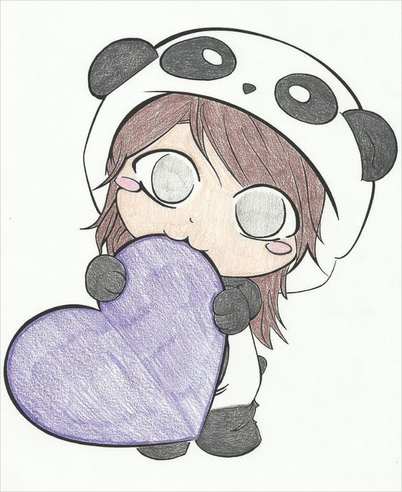 585x715 Photos Cute Girl Pictures Drawing,