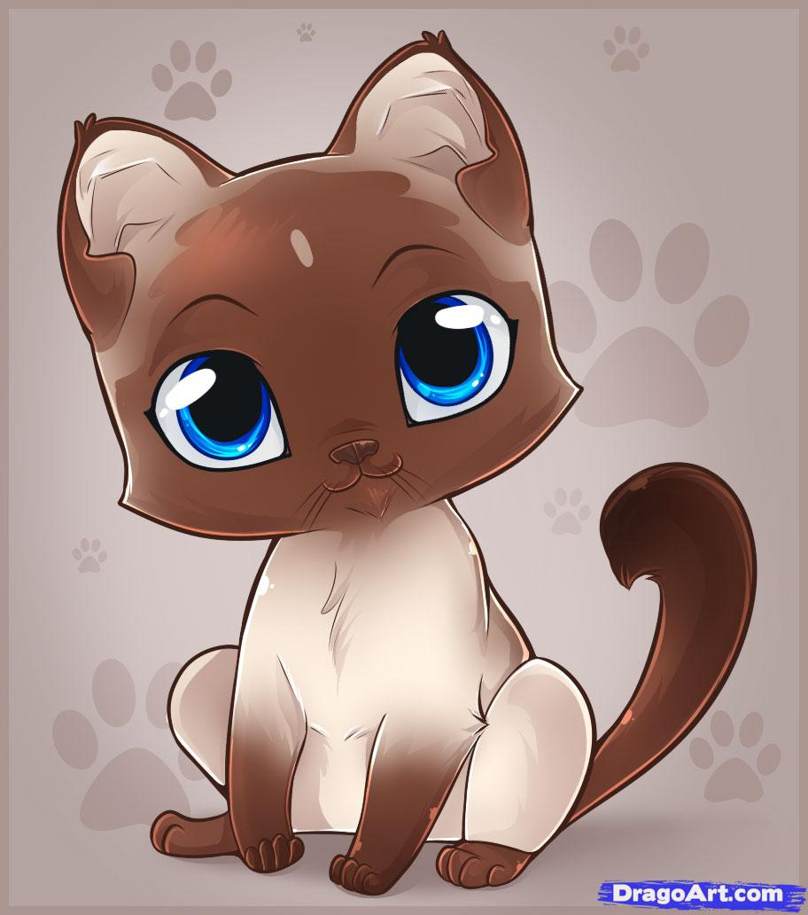912x1032 Cute Kitten Drawings Cute Drawings Of Kittens How To Draw An Easy