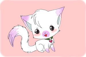 300x200 How To Draw A Chibi Kitten