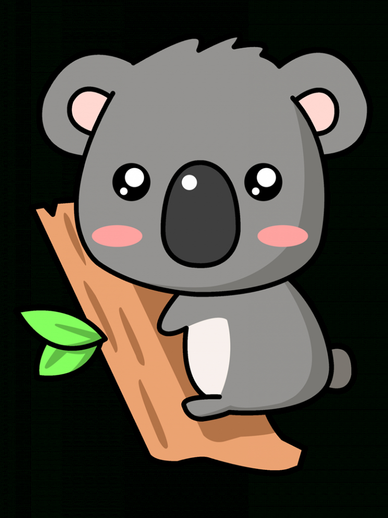 Cute Koala Bear Drawing at GetDrawings | Free download