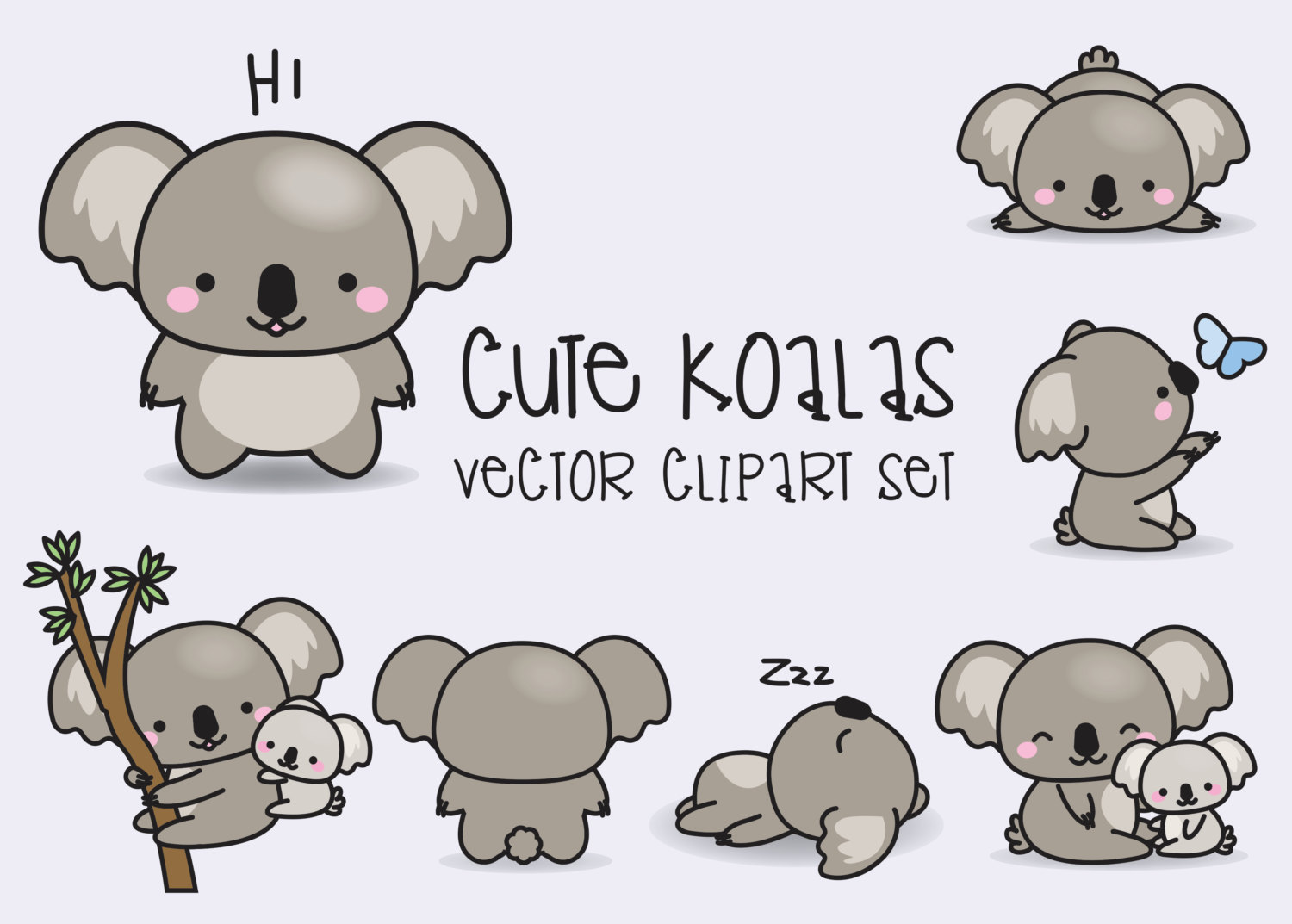 Cute Koala Drawing at GetDrawings | Free download