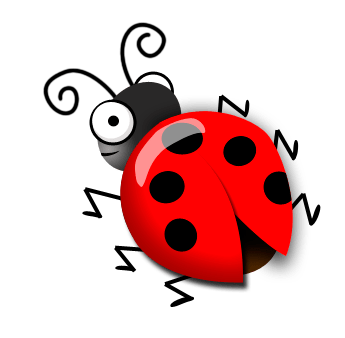 345x338 How To Draw A Cute Ladybug In Photoshop Eloine's Blog