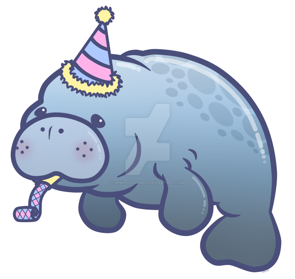 Cute Manatee Drawing At Getdrawings Com Free For