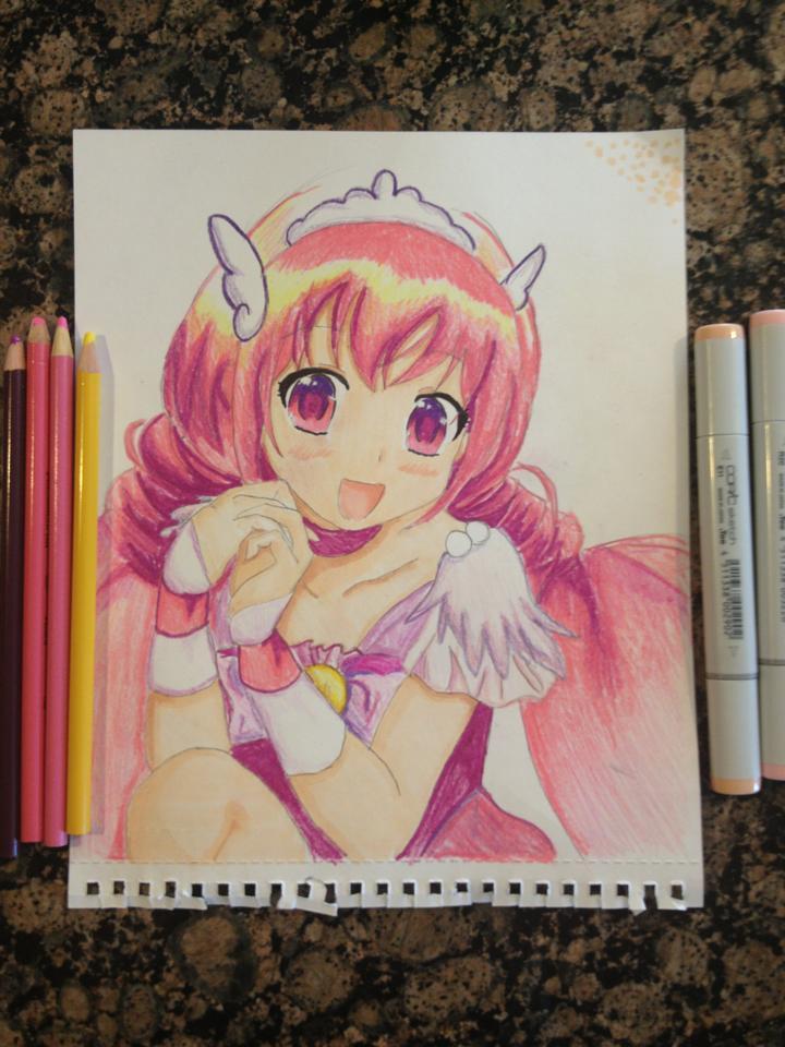 720x960 Cute As A Cupcake! Manga Girl By Drawmymanga