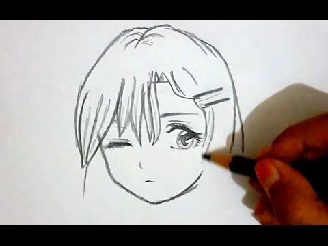 480x360 Draw Kawaii Cute Manga Girl Character