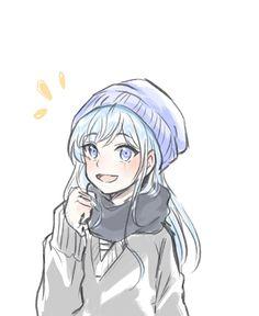 236x288 Anime, Anime Girl, Art, Cute, Girl, Illustration, Animemanga