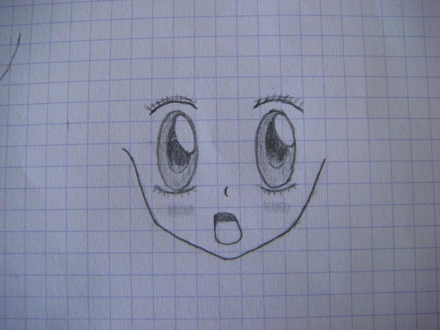 900x675 Cute Manga Girl Sketch 1 By Dantexo