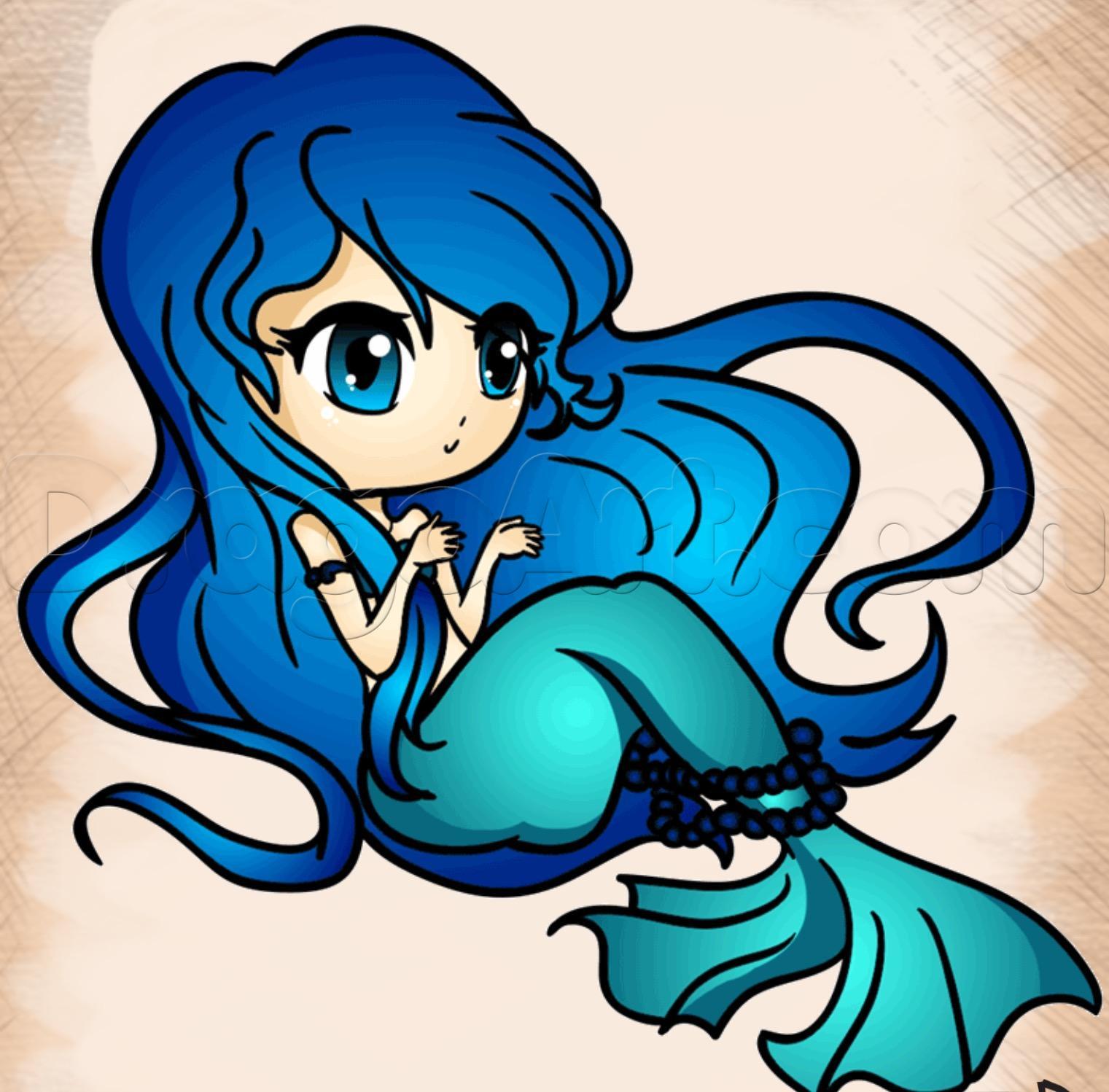 1521x1498 How To Draw A Cute Mermaid Todo Mermaid, Mermaid