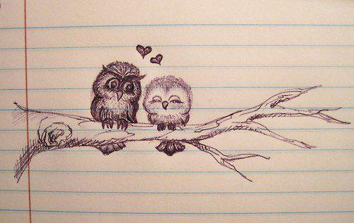 500x315 Doodle Drawings Owls Love Doodle Doodler Blog Art