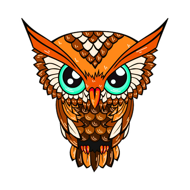 630x630 Cute Owl Design