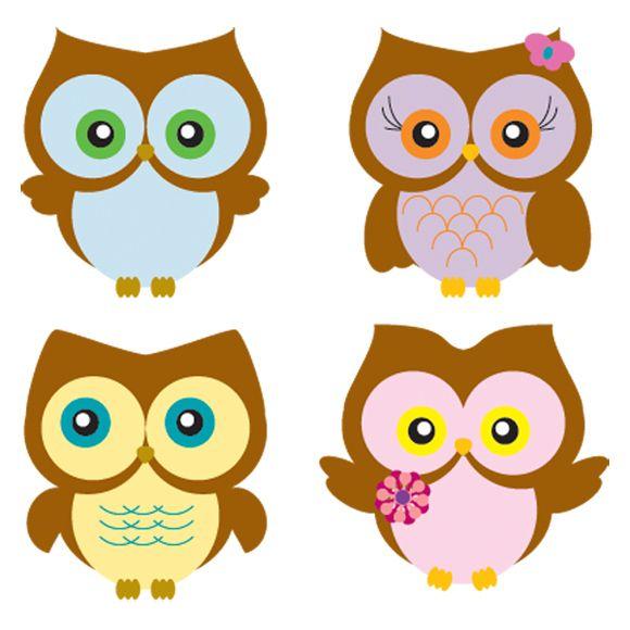 580x580 Cute Owl Drawings