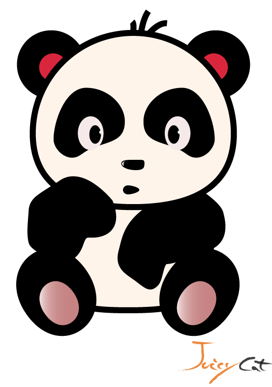 553x787 Cute Panda How To Draw A Panda Bear Cub Tutorial Drawing Baby Clip
