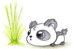 236x159 Cute Panda Drawing
