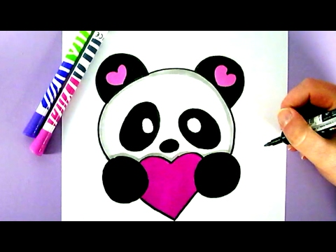 480x360 Cute Panda Drawing How To Draw A Cute Panda Youtube Ideas