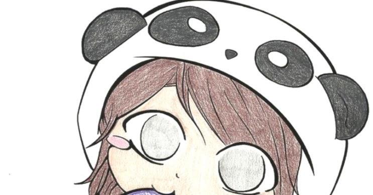 743x390 Cute Panda Love Drawings Wallpapers Background