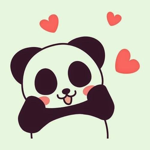500x500 Panda In Love Panda Panda, Wallpaper And Drawings