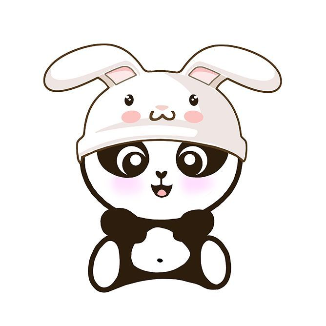 668x668 Resultado De Imagen Para Panda Kawaii Hermoso