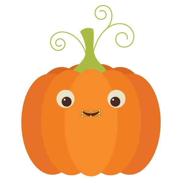 600x600 Create An Easy, Retro Pumpkin Card In Adobe Illustrator