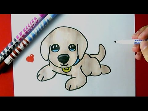 480x360 How to Draw A CUTE PUPPY EASY
