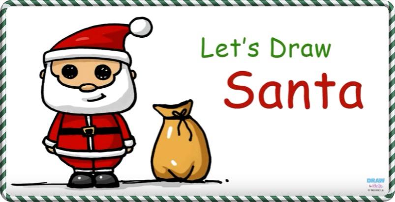 Cute Santa Drawing At Getdrawings Com Free For Personal