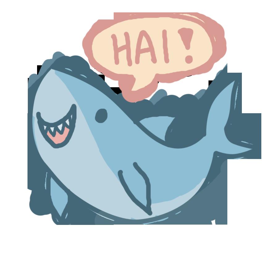Cute Shark Drawing at GetDrawings.com   Free for personal use Cute Shark Drawing of ...  Cute Shark Draw...