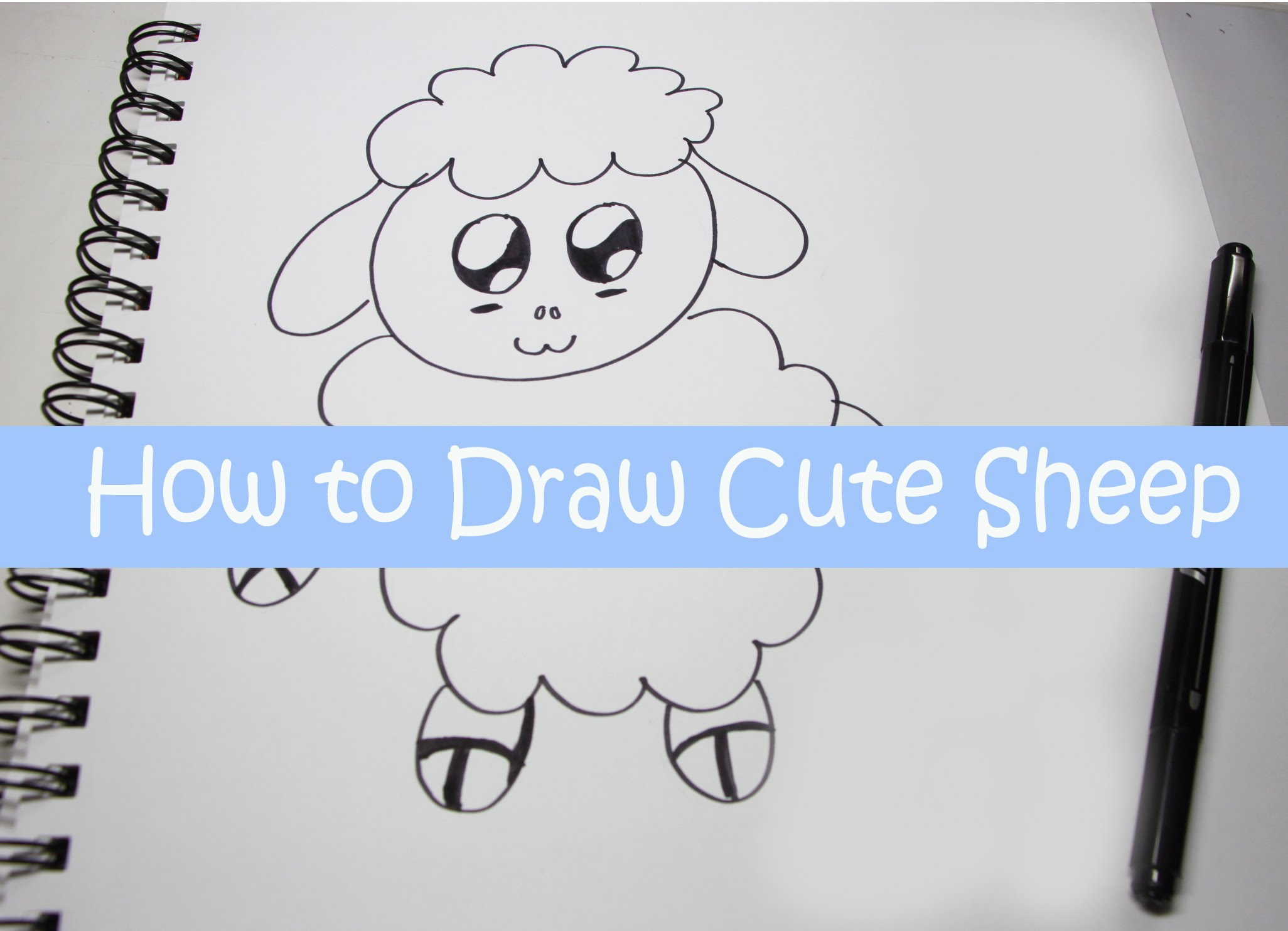 Line Drawing Of Sheep Face : Cute sheep drawing at getdrawings free for personal use