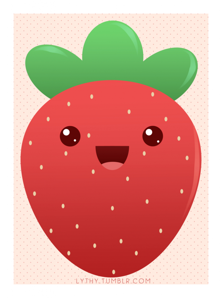 762x1024 Cute Strawberry Drawing Cute Lil Strawberry Lythweird