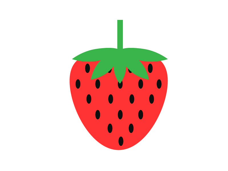 cute strawberry drawing at getdrawings com free for personal use