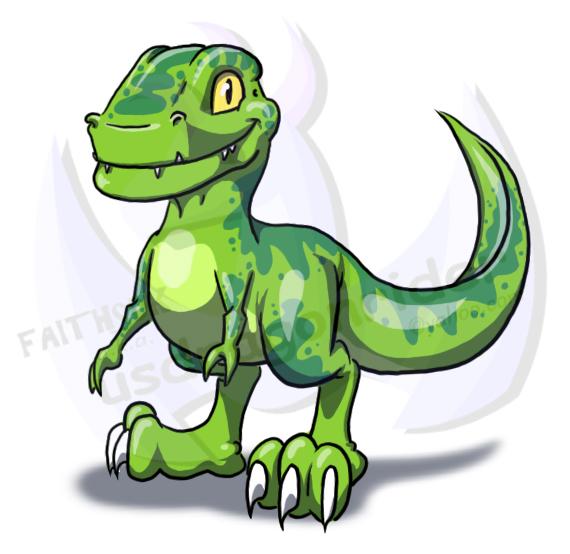 570x554 Baby T Rex By Faithsdk