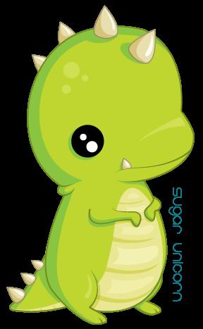 288x467 Little T Rex. By Sugarunicorn
