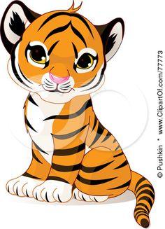 236x327 How To Draw A Tiger Cub, Tiger Cub Step 9 Tiger Party