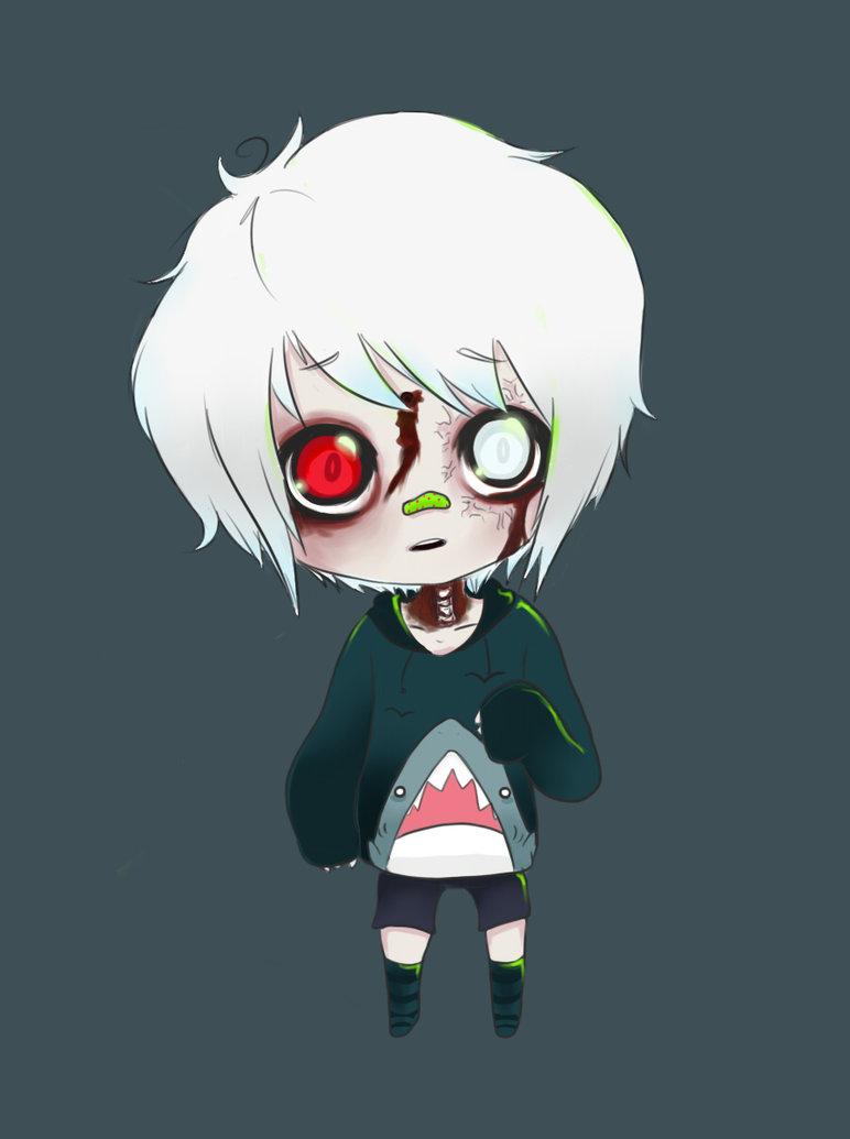 772x1035 Other Cute Little Zombie Boy By Vesabean